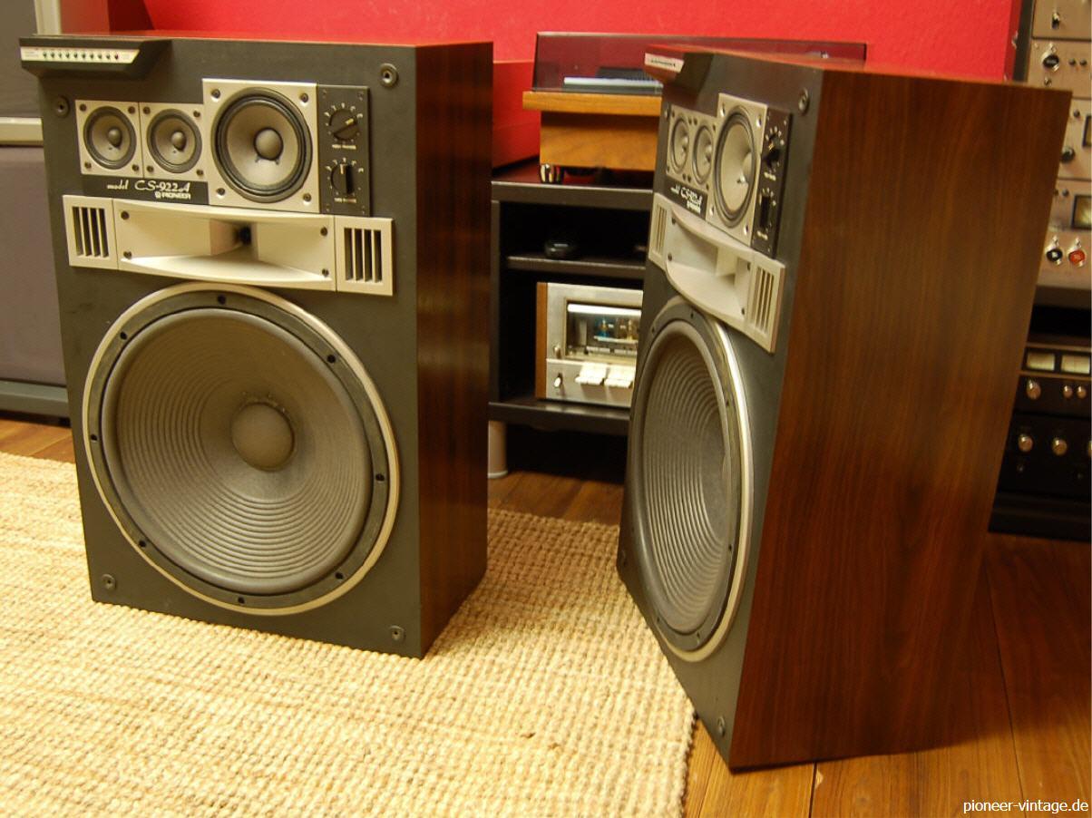 pioneer vintage hifi klassiker. Black Bedroom Furniture Sets. Home Design Ideas